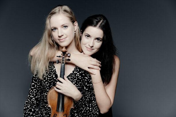 Merel Vercammen en Dina Ivanova